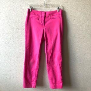 Ann Taylor Loft Pink Julie Skinny Pant Size 2P